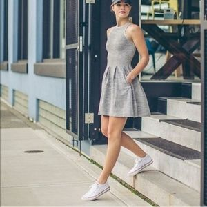 Lululemon Here To There Dress Silver Spoon RARE